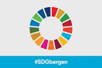 FNs bærekraftsmål, #SDGbergen, logo