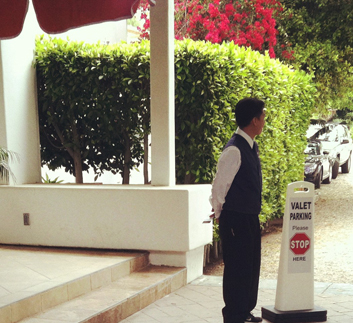 find valet parking services in Los Angeles