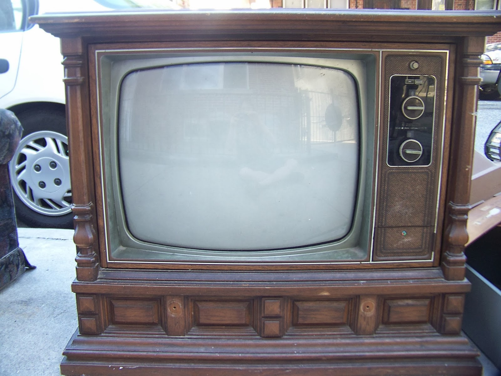 Big Zenith Tv: Vintage 1959 Zenith Space Command 400