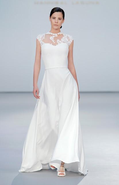 Vestido de novia de Hannibal Laguna 2017