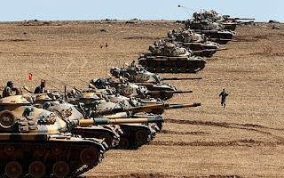 Τα τουρκικά τανκς «ζεσταίνουν μηχανές»