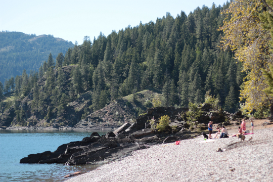Green Bay Campground Idaho