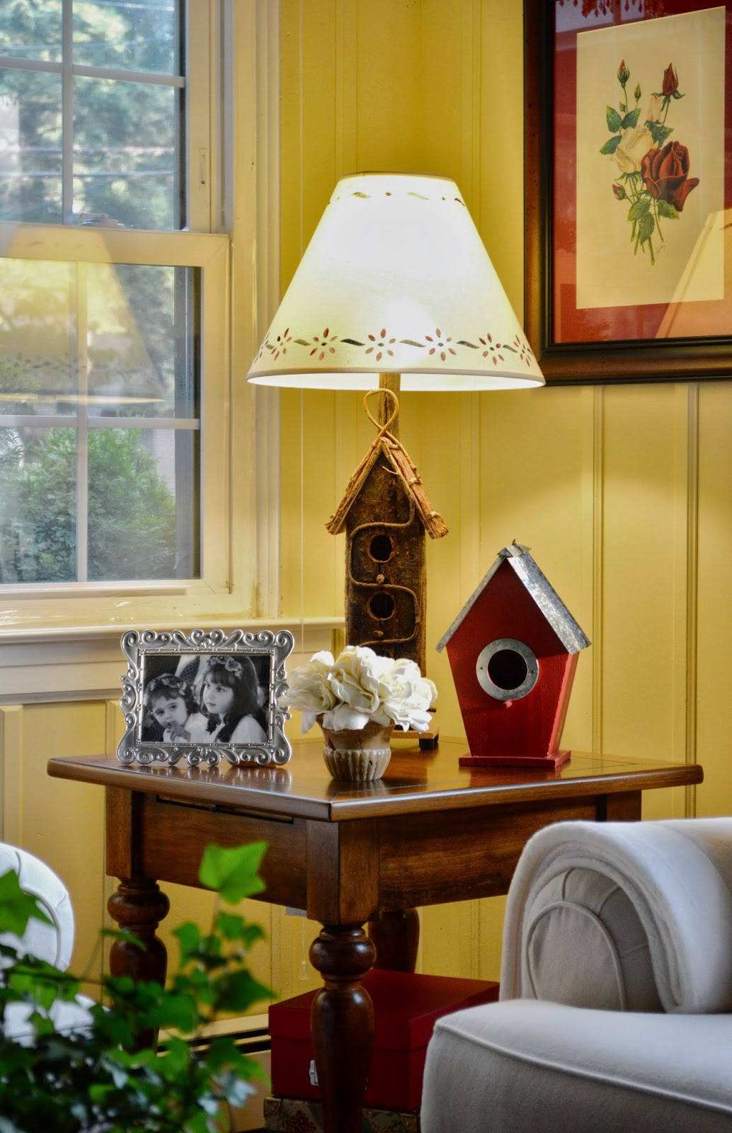 Bird House Lamp