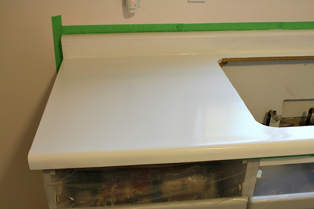 How to repair and refinish laminate counters   Dans le Lakehouse