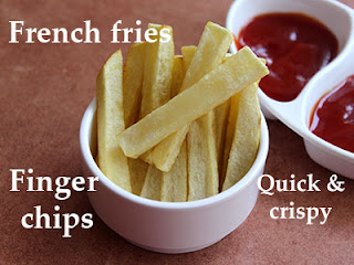 French fries recipe in Kannada