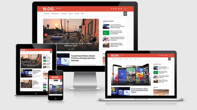Haber, Dergi ve Teknoloji Blog Teması