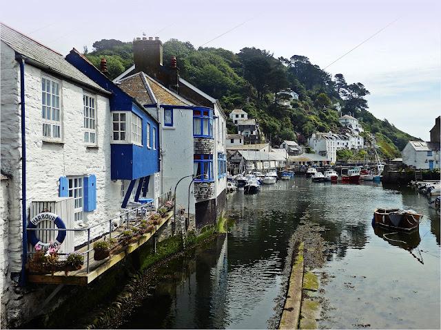 Polperro harbour, Cornwall