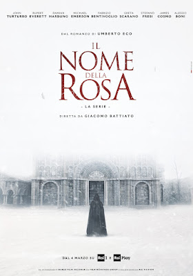 The Name Of The Rose 2019 Miniseries Poster 4
