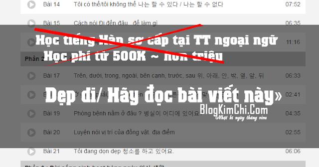 Học tiếng Hàn online - tiết kiệm + chất lượng