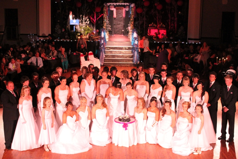 Enchanted Events And Balloons 2012 Rotary Debutante Ball