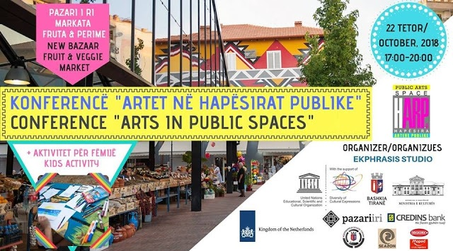 International Public Arts Conference bringing experts to Tirana!