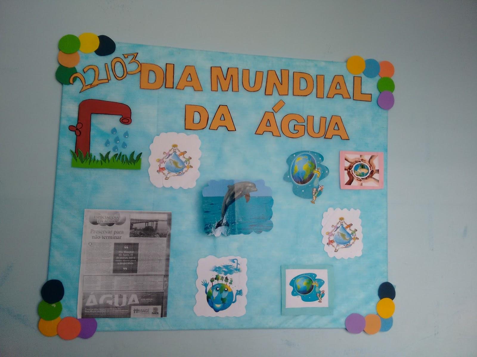 Pibid biologia unipampa constru o de mural dia for Mural de natal 4 ano
