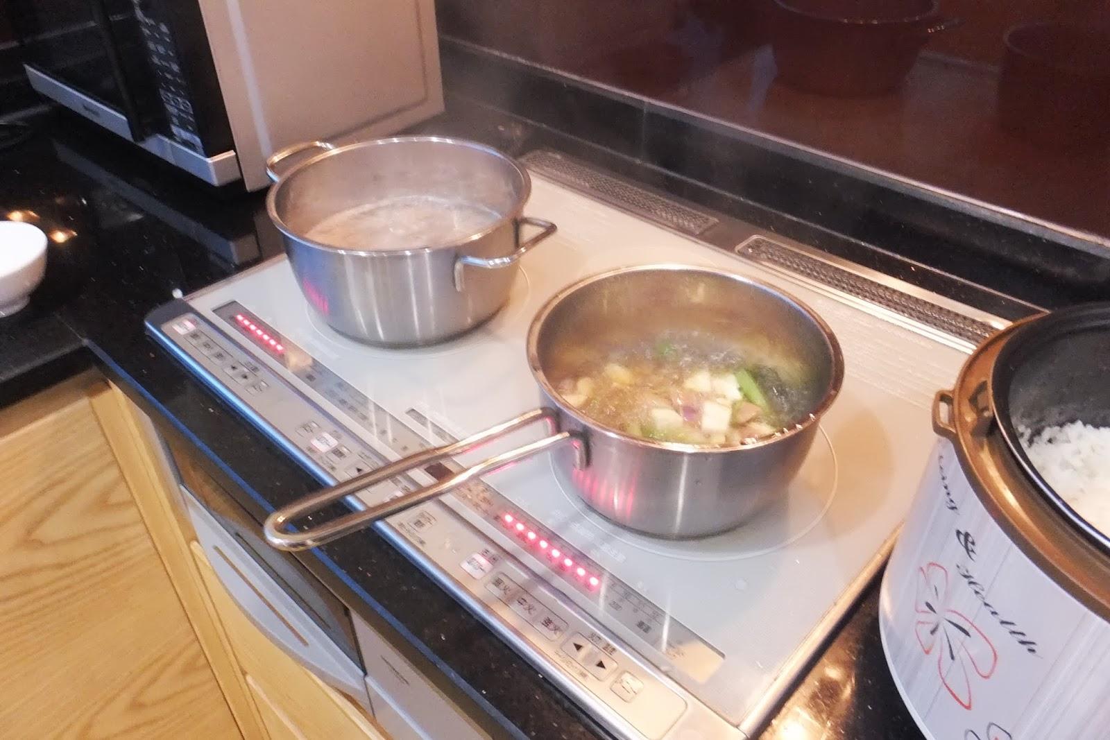 cooking-soba そばを茹でる
