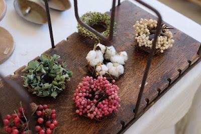 長野県安曇野穂高の植物×古道具 kokageya 小さなリース