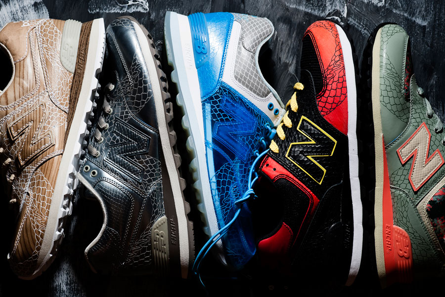 SNKROLOGY: A SOFT SPOT: New Balance '574 Dragon Pack 2012'