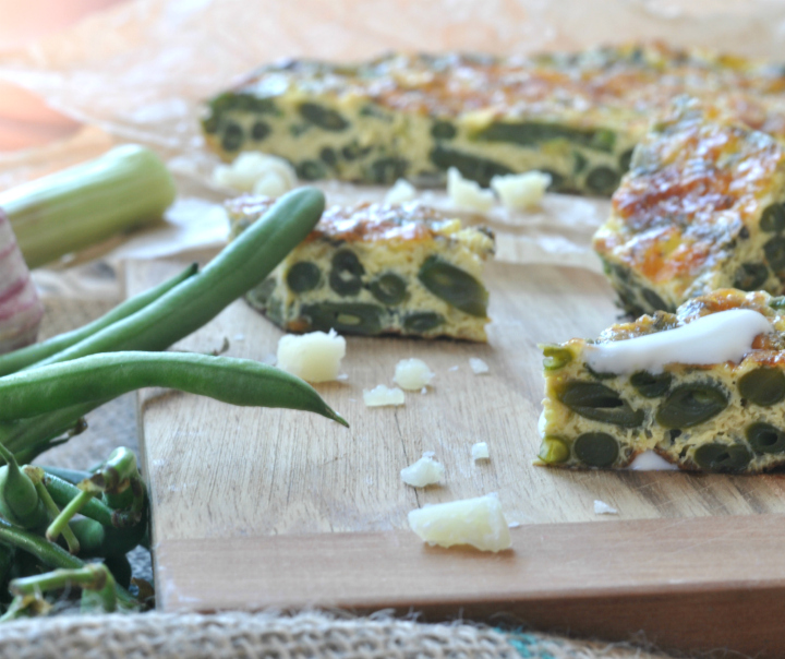 Green-Bean-Tortilla, a classic with a twist (and it's glutenfree, too!)