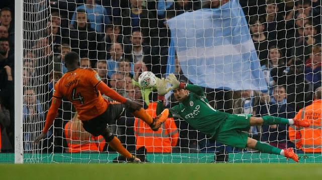 Piala Liga Inggris: Kalahkan Wolves lewat Adu Penalti, City ke Perempatfinal