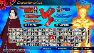 Naruto Shippuden Ultimate Ninja Impact ISO / CSO PPSSPP
