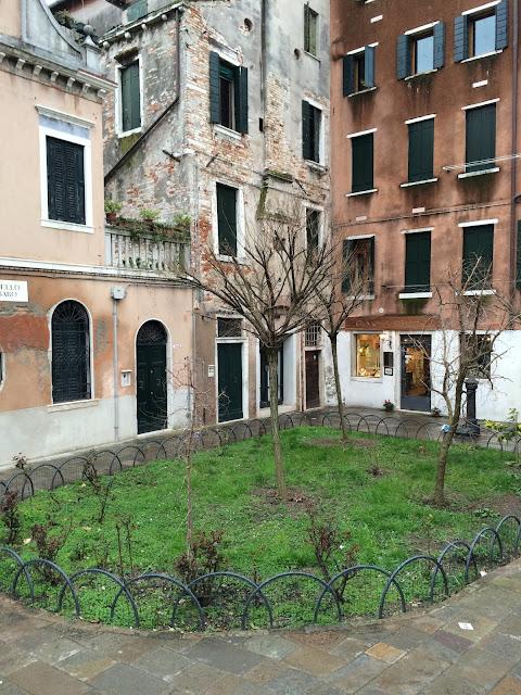 Campo in Venice Italy