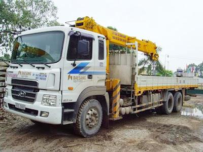 mua dầu mỡ cho xe cẩu xe tải