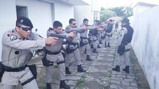 Policiais militares recebem treinamento em Cuité e Picuí