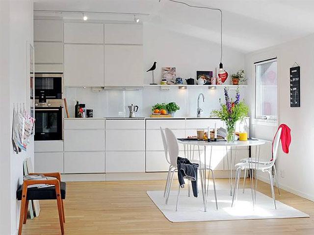 phòng bếp sáng tạo