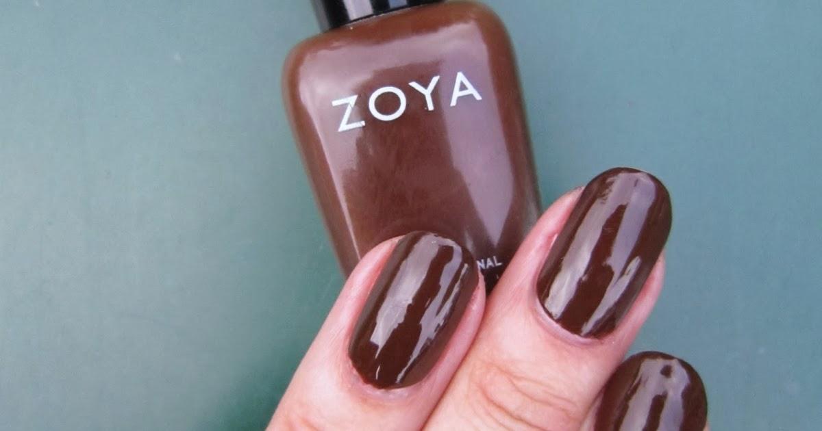 Concrete And Nail Polish Zoya Louise
