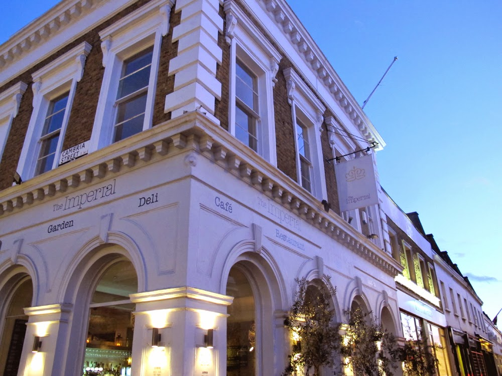 The Imperial gastropub, King's Road, Chelsea - London restaurant blog