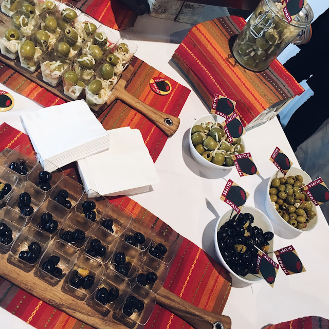 olives from spain, great match sf, wine tasting, wine from spain, holiday aperitifs, asos holiday dress