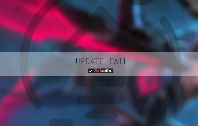 Alasan android tidak bisa update