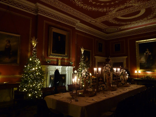 National Trust Attingham Park Shropshire Christmas