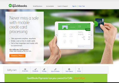 Intuit GoPayment lets you take payments anytime, anywhere