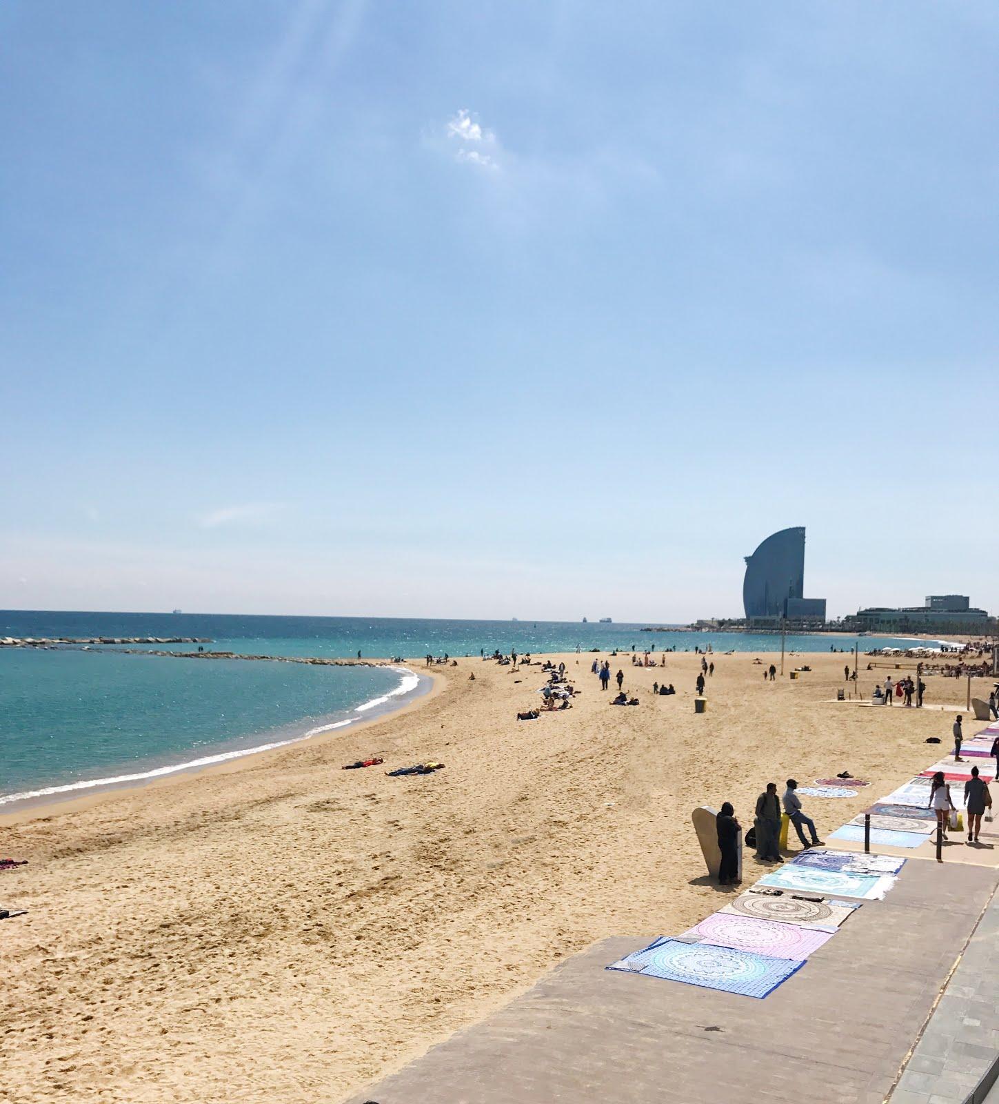 Barceloneta-Beach-Barcelona-Spain-Vivi-Brizuela-PinkOrchidMakeup