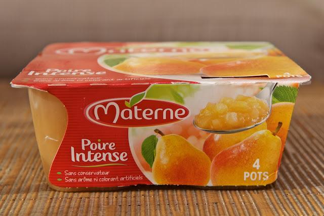 Materne - Poire Intense - Fruits - Compote - Dessert - Petit-déjeuner - Goûter - Végétarien - Poire - Naturel - Mom - Pear -