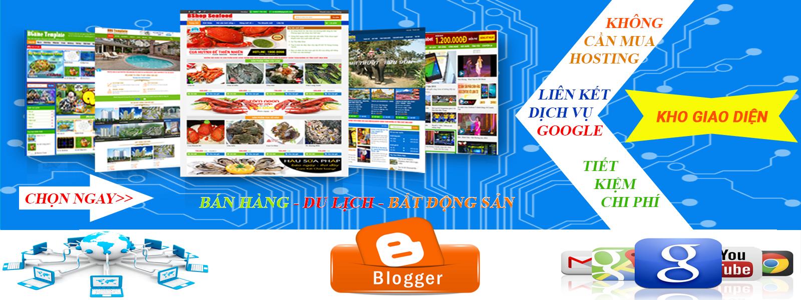 Kho giao diện Blogspot