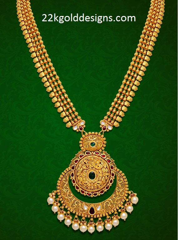GRT Antique Gold Necklace