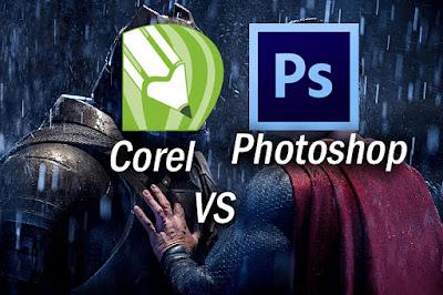 Membahas tentang CorelDraw dan Photoshop, mana yang lebih bagus ? dan apa saja perbedaannya, akan saya bahas pada tulisan kali ini semua yang perlu kalian ketahui antara kelemahan dan juga kelebihan dari photoshop dan coreldraw.