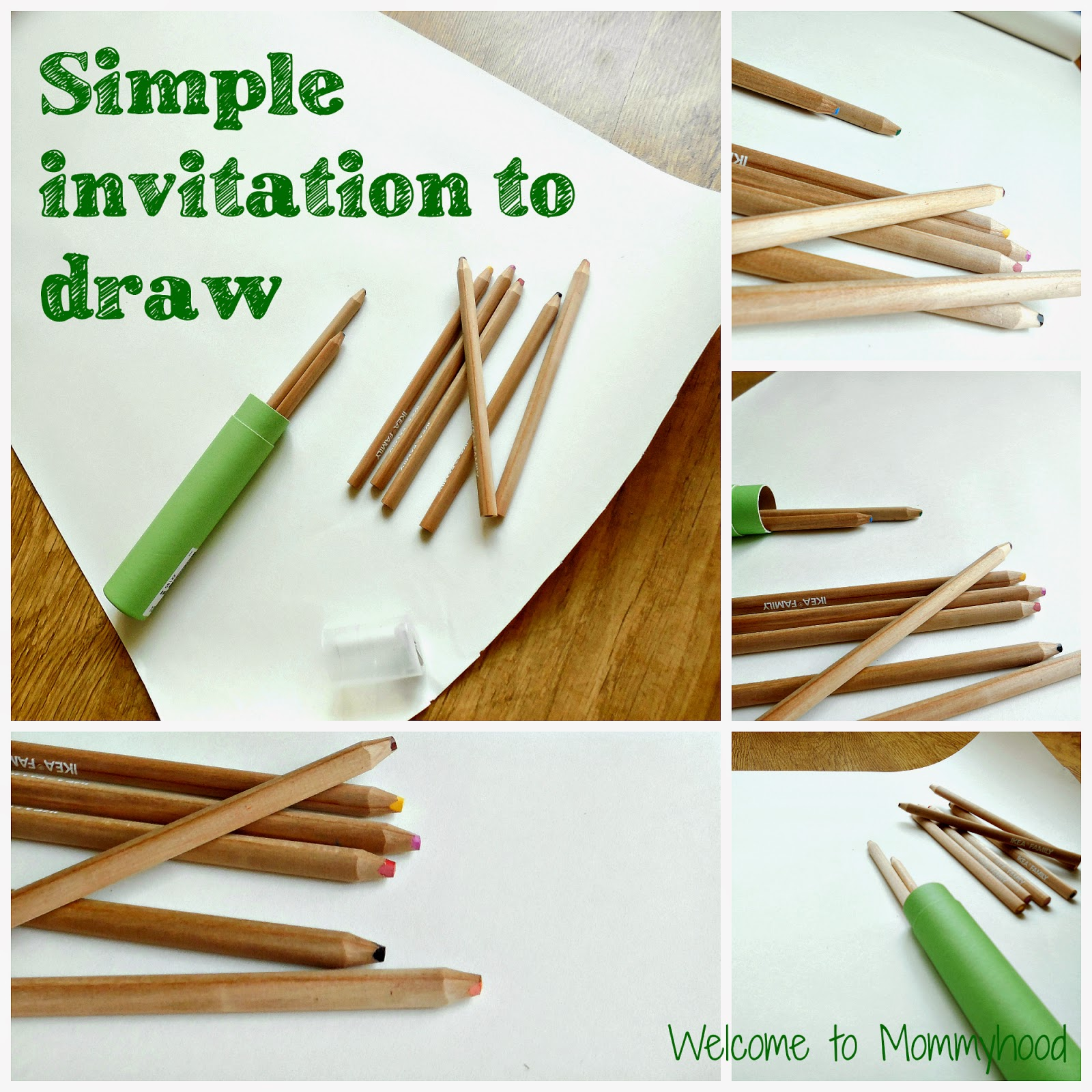 Art activities for toddlers: a simple invitation to draw {Welcome to Mommyhood} #ArtActivitiesForToddlers