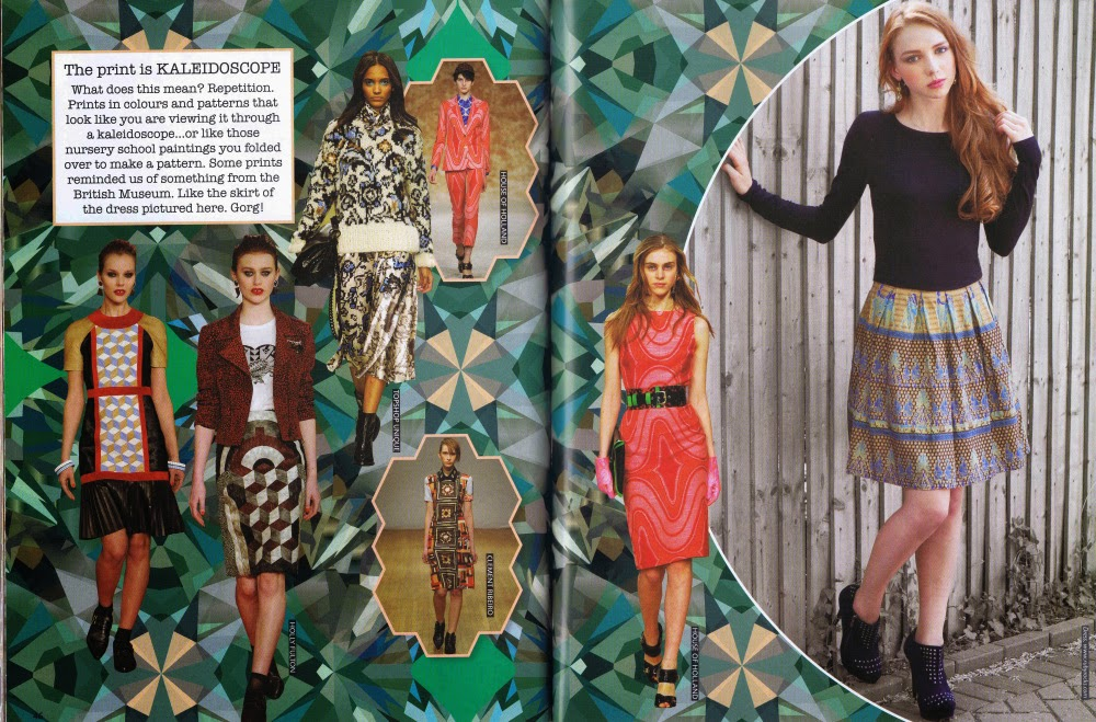 Kaleidoscope Prints Fashion