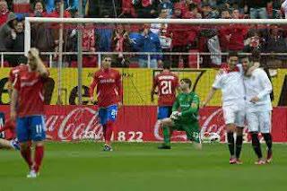 Sevilla F.C. 4-0 Zaragoza
