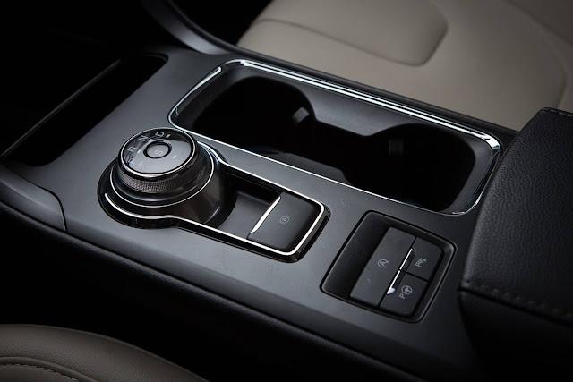 Novo Fusion 2017 - interior - câmbio automático