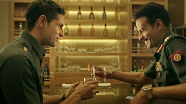Sidharth Malhotra and Manoj Bajpayee in Neeraj Pandey's Aiyaary