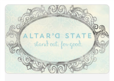 Gift Guide for Teen Girls, altar'd state gift card