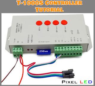 T-1000S Pixel LED Controller Tutorial