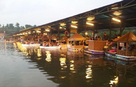 Tempat wisata floating market di lembang bandung