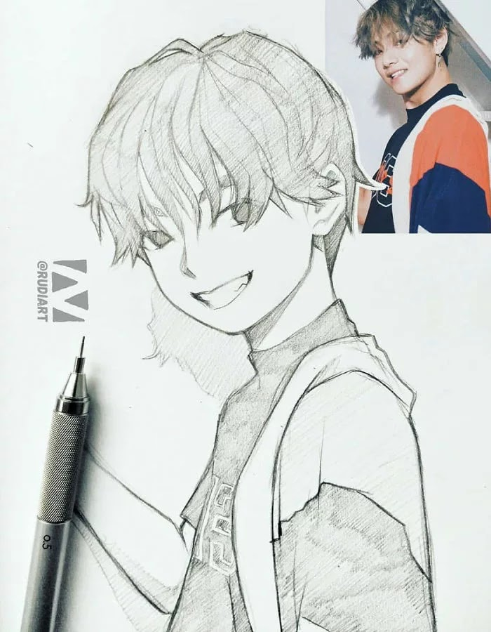 This Artist Illustrates People As Anime Characters And The Result Is Stunning