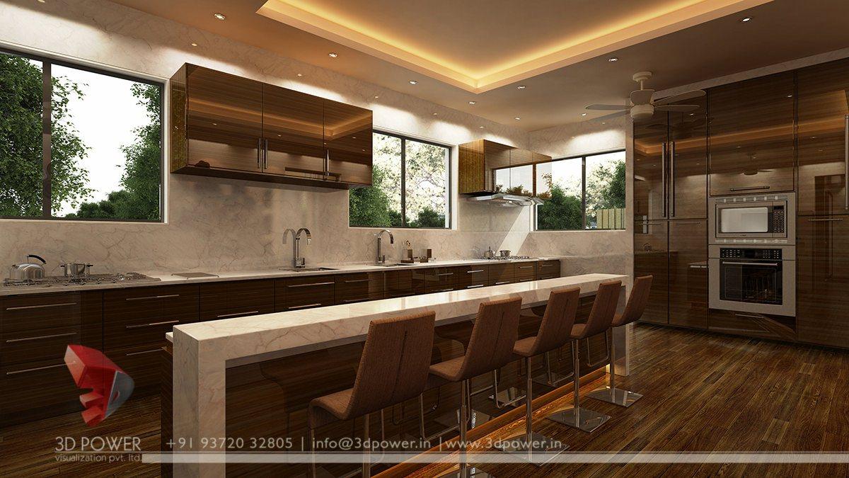 3d Kitchen Design Ideas ~ D interior designs designer kitchen