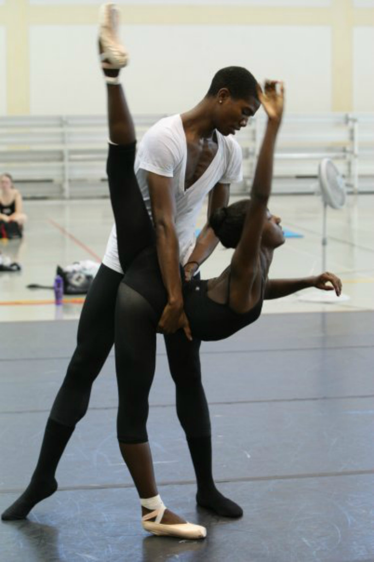 partner work in ballet Tumblr inspiration