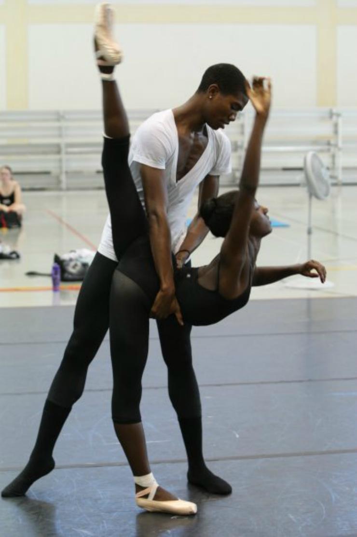 partner work in ballet Tumblr inspiration