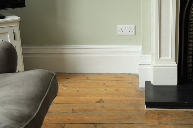 Skirting Board Living Room